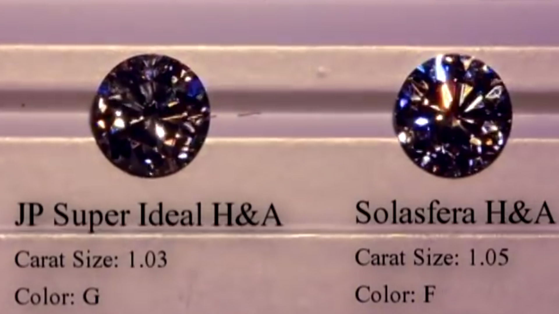 JannPaul: Comparing GIA Triple Excellent Round Diamond with Signature Cuts